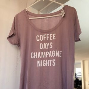 Express Coffee Champagne T-shirt